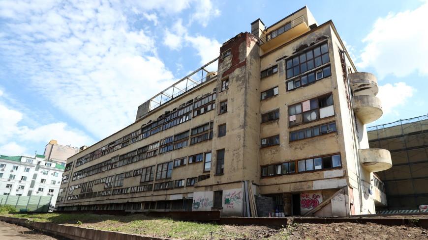 Нареконструкцию Дома Наркомфина в столицеРФ истратят 855 млн руб. заемных средств