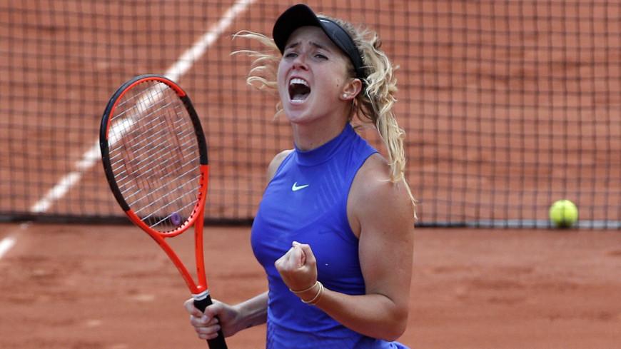 Украинка Элина Свитолина попала в финал теннисного турнира в Торонто