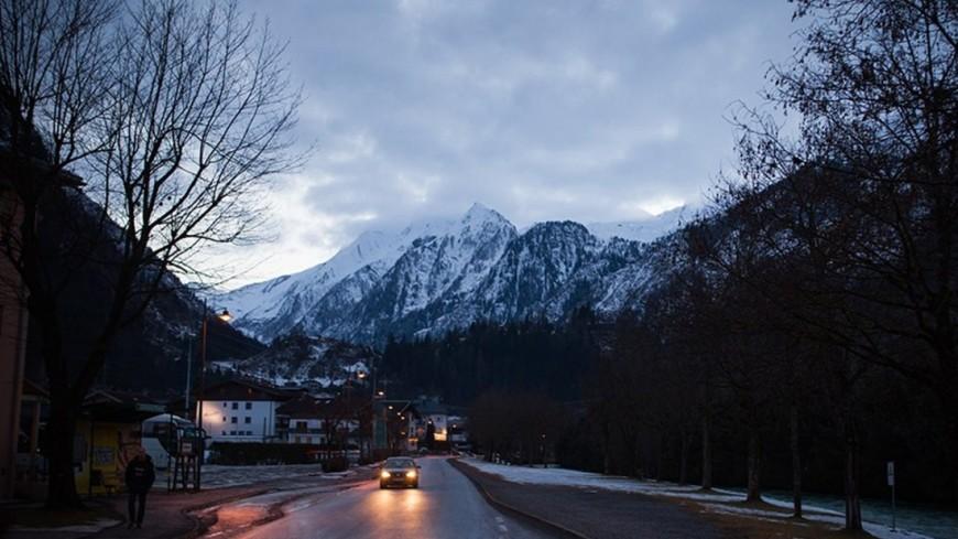Поиски пропавшей в Альпах россиянки приостановлены