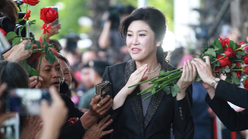 СМИ: Обвиняемая в коррупции экс-премьер Таиланда Чинават покинула страну