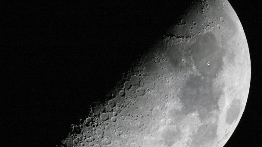 NASA опубликовало первые кадры Земли, сделанные слунной поверхности
