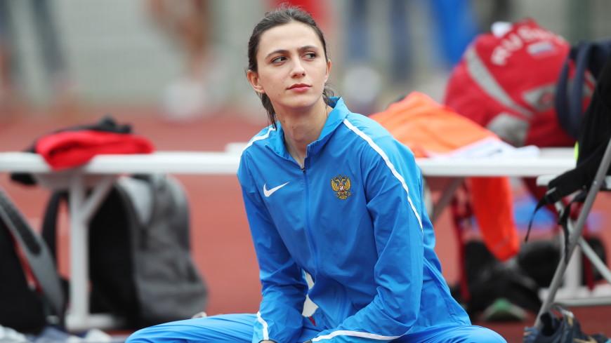 Мария Ласицкене взяла золото ЧМ в прыжках в высоту