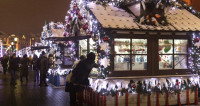 К фестивалю «Путешествие в Рождество» в Москве откроют сотни шале