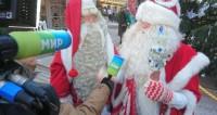 Деды Морозы прогулялись по центральным улицам Минска