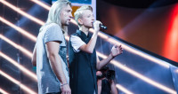 Пятый концерт «Во весь голос»: в лидеры выбилась команда Беларуси