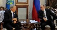 Путин обсудил с Назарбаевым итоги заседания Совета ОДКБ