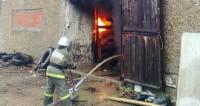 Большой пожар: в Калининграде горит огромный склад