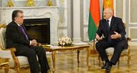 Лукашенко и Рахмон поговорили о торговом потенциале и «красивых отношениях» стран