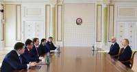 Алиев выступил за расширение товарооборота с Россией