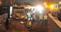 ГАЗ: Сбивший людей в Москве водитель автобуса не пытался тормозить