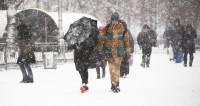 В Астане объявили режим ЧС из-за снежной бури