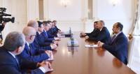 Алиев и Жилкин обсудили строительство бизнес-центров в Баку и Астрахани