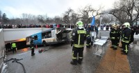 Авария с автобусом на Славянском бульваре: все подробности