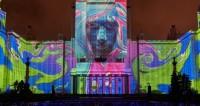 Москвичи в новогодние праздники увидят световое шоу
