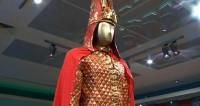 «Золотой человек»: в Минск привезли знаменитый символ Казахстана
