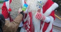Корреспондент «Мира» побыл Дедом Морозом в центре Баку