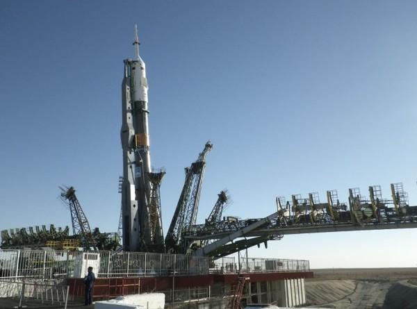 Ракету-носитель «Союз» подготовили к запуску на МКС