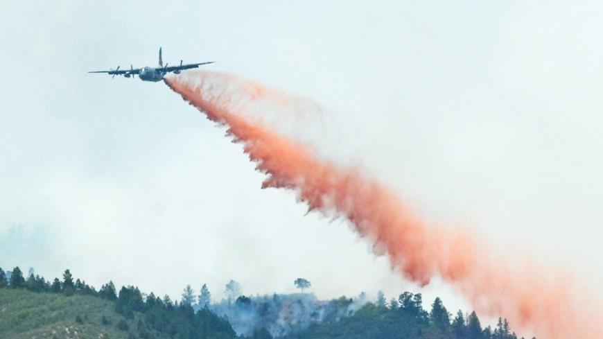 Пожары вКалифорнии неутихают