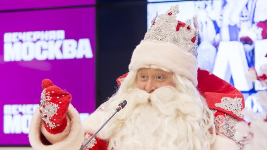 Дед Мороз и Санта-Клаус встретились на мосту «Дружба» в Нарве