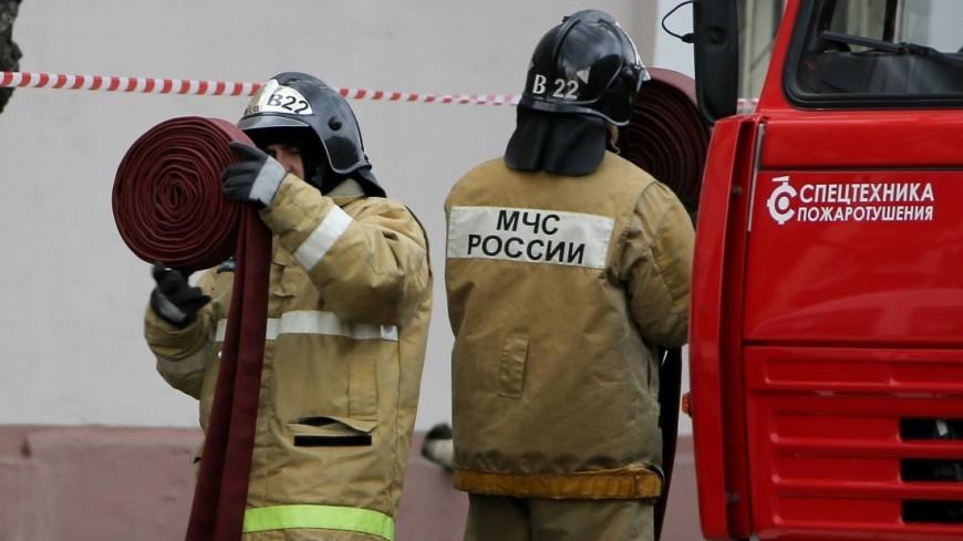 Один человек погиб при пожаре в многоэтажке в Нальчике