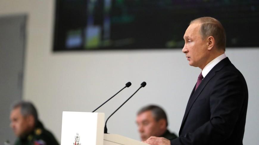 Оценка «отлично»: Путин поблагодарил военных за операцию в САР