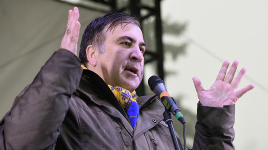 Высоко взлетел: Саакашвили задержали в Киеве за попытку путча
