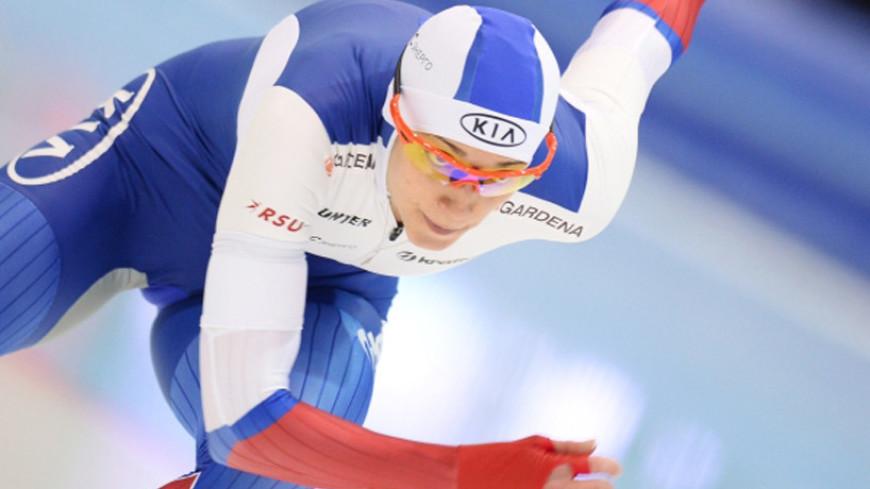 Шихова стала третьей на этапе КМ по конькобежному спорту в США