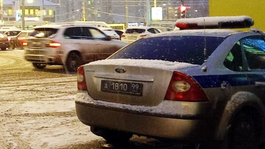 Несколько легковушек столкнулись на севере Москвы: трое пострадавших