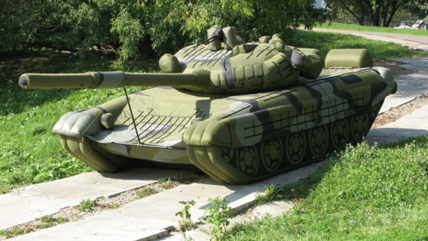 Российские надувные танки стали хитом продаж за рубежом