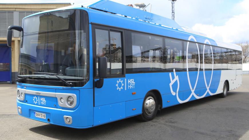 В 2018 году Москва закупит 300 электробусов