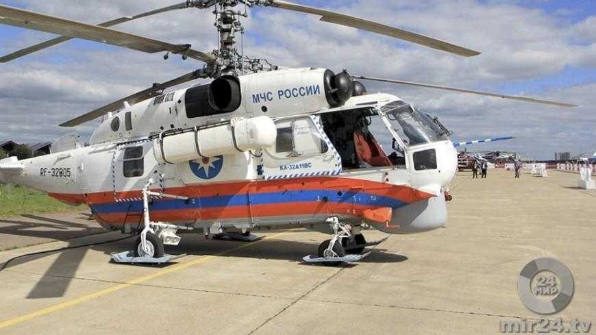 Рядом с обломками упавшего под Иркутском вертолета не нашли людей