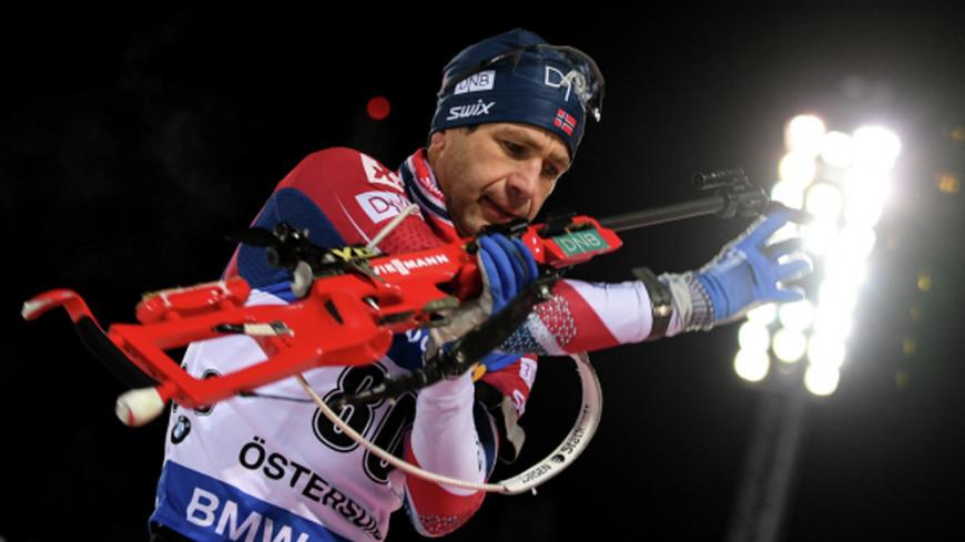 Биатлониста Бьорндалена могут отстранить от Олимпиады-2018