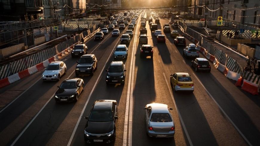 В 2017 году в Москве построили десятки километров новых дорог