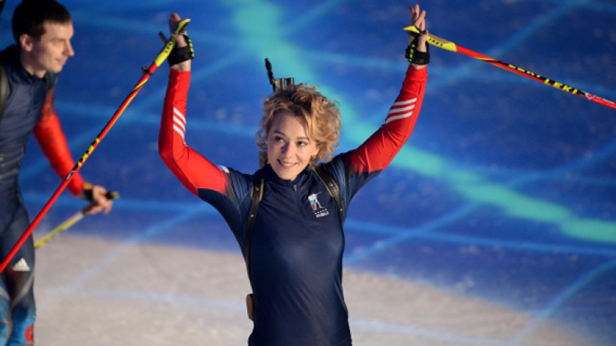 МОК пожизненно отстранила биатлонистку Зайцеву от олимпиад