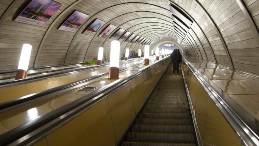 В московской подземке на два дня закроют один из эскалаторов на «Таганской»