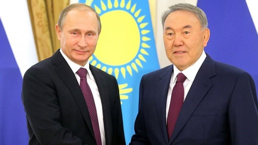 """Фото: """"Официальный сайт Президента России"""":http://kremlin.ru/, путин и назарбаев, путин, назарбаев"""