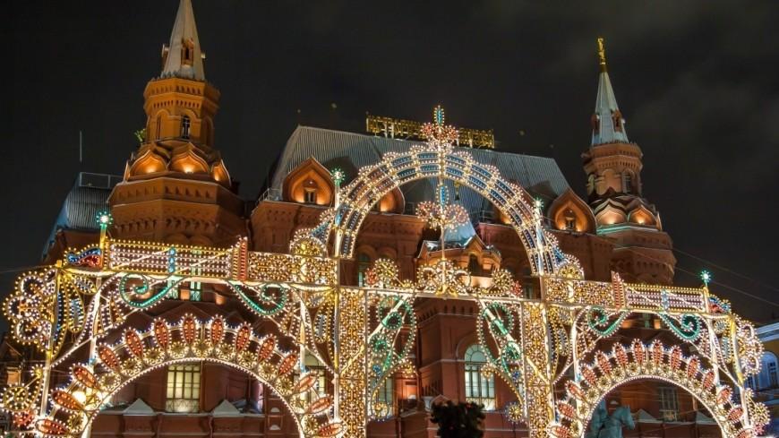 Москвичам предсказали апрельскую погоду в новогоднюю ночь