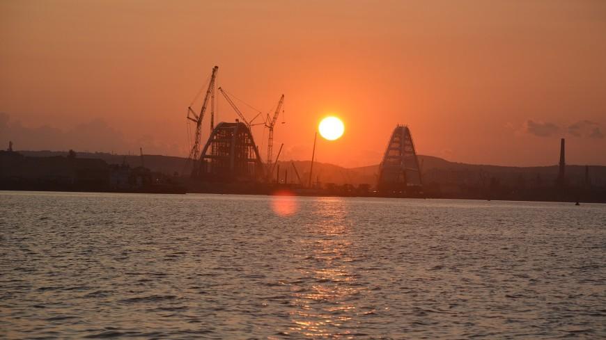 Автомобильные подходы к Крымскому мосту готовы на 75 процентов