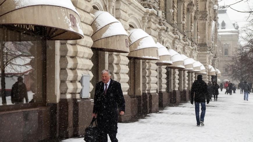 Москву заморозит к вечеру