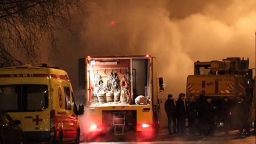 Работы наместе происшествия натеплотрассе в столице России на100% завершены— МЧС