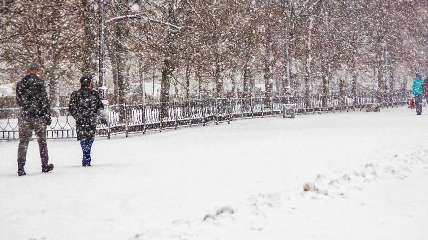 Москву накроет снегопад