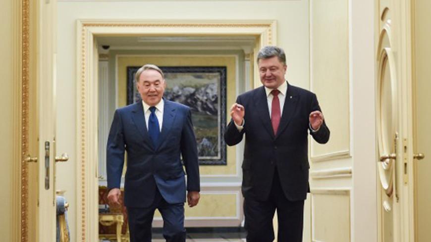 Назарбаев посетит Украину с ответным визитом
