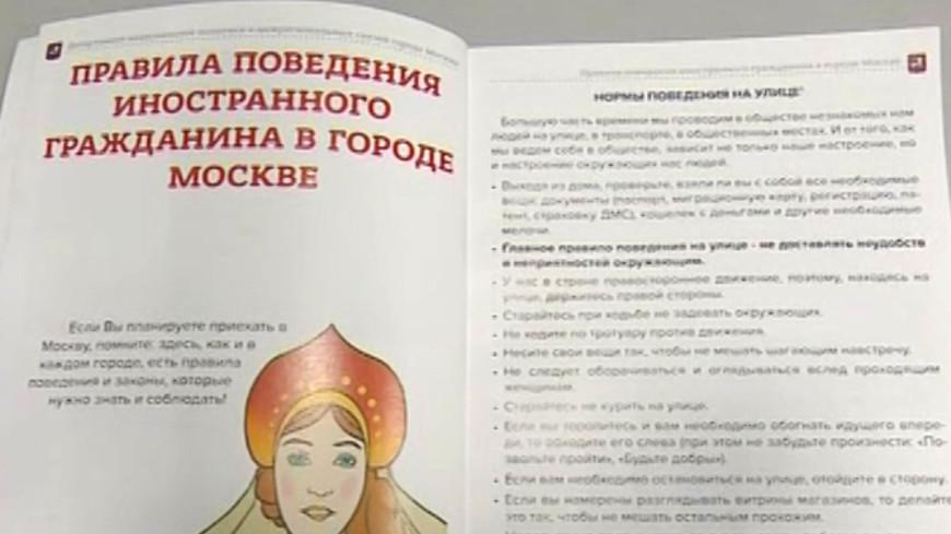В России появились комиксы для мигрантов