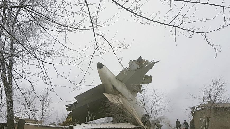 На месте крушения Boeing под Бишкеком нашли второй «черный ящик»