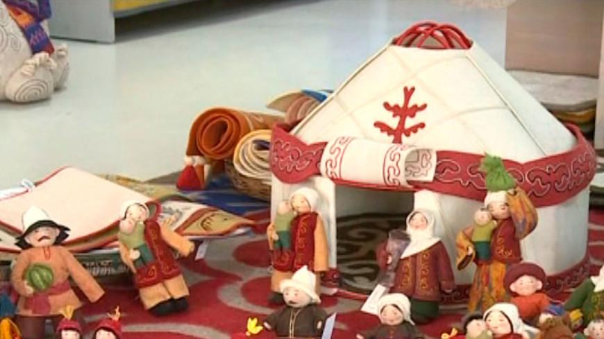 Теплая радость: как делают войлочные игрушки в Кыргызстане