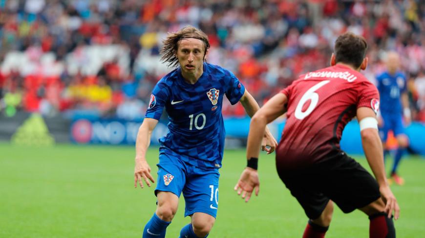 Хорваты одолели турок на Евро благодаря голу Модрича