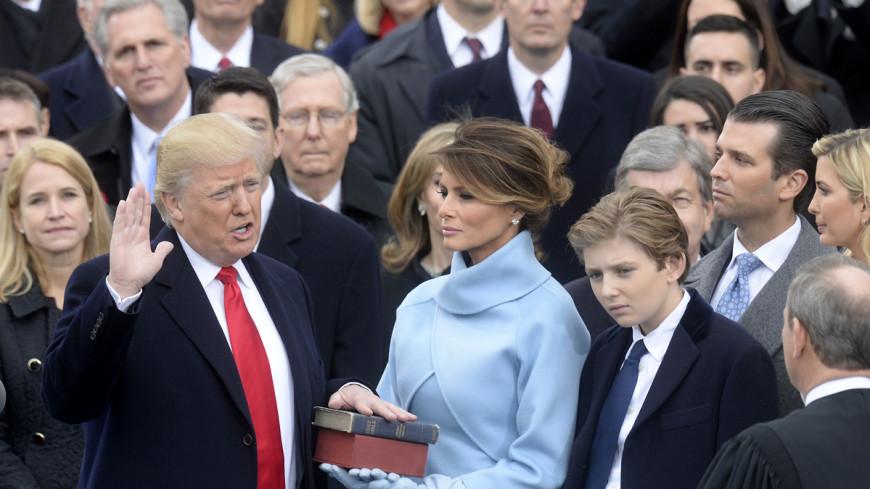 Меланья Трамп выбрала для инаугурации супруга платье от Ральфа Лорена