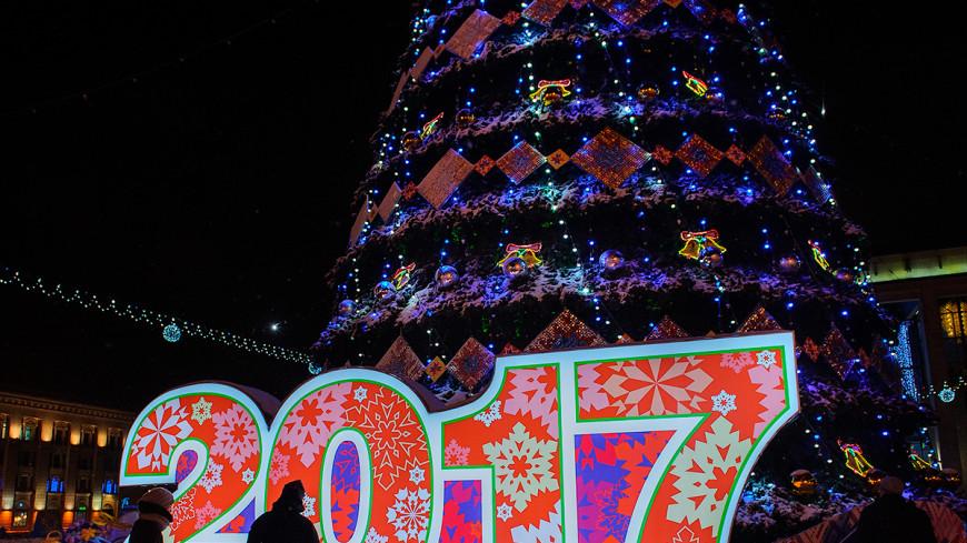 Новогодние гуляния развернулись на 30 площадках Минска