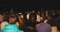 Москвичи подрались со строителями из-за вырубаемого под дом парка