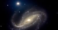 Ученые сфотографировали исчезающую галактику в космической дымке